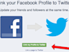 How To Get Your Twitter Followers On To Your Facebook Page