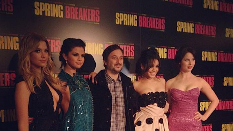 Ashley Benson, Selena Gomez, Harmony Korine, Vanessa Hudgens and Rachel Korine