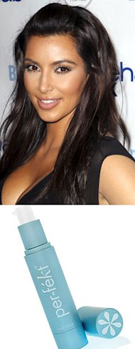 Kim Kardashian reveals her skin secret: Skin Perfection Gel by Per-fekt!