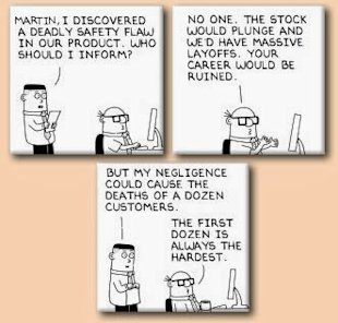 Corporate Ethics and Business Advantage image dilbert business ethics2