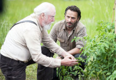 Scott Wilson and Andrew Lincoln | Photo Credits: Gene Page/AMC