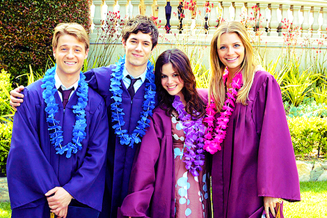 "Ryan (Ben McKenzie), Seth (Adam Brody), Summer (Rachel Bilson) and Marissa (Mischa Barton) were the original ""core four"""