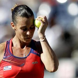 Pennetta bows out after exceeding expectations