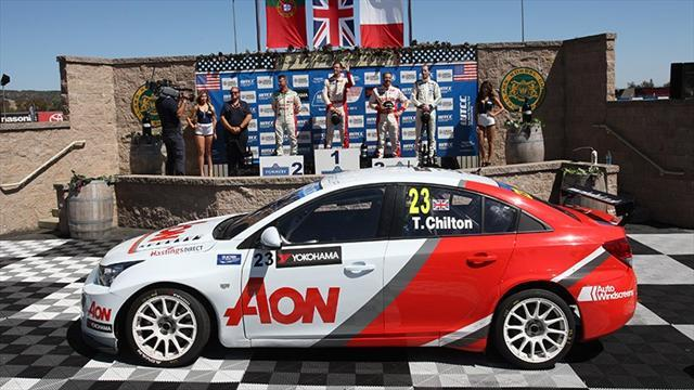 WTCC - Chilton and Tarquini win in California