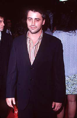 Premiere: Matt LeBlanc at the Hollywood premiere of New Line's Boogie Nights - 10/15/1997