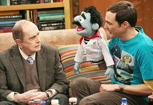 Bob Newhart and Jim Parsons | Photo Credits: Michael Yarish/Warner Bros