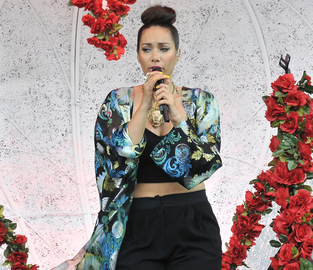 Leona Lewis at Radio 1's Hackney Weekend