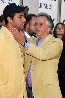 Adam Sandler and Henry Winkler at the LA premiere of Columbia's Click