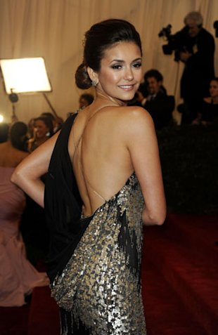 Met Ball 2012 Update: Carey Mulligan's Prada Dress Hits eBay PLUS Nina Dobrev Was Cut Out Of Donna Karan Gown?!