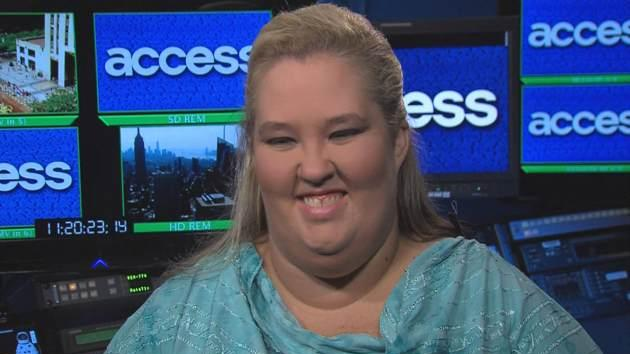 'Here Comes Honey Boo Boo' star Mama June stops by Access Hollywood on July 15, 2013 -- Access Hollywood