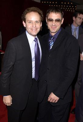 Peter MacNicol and Robert Downey Jr. 53rd Annual Emmy Awards - 11/4/2001