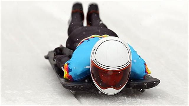 Skeleton - Yarnold settles for second in rivalry with Pikus-Pace