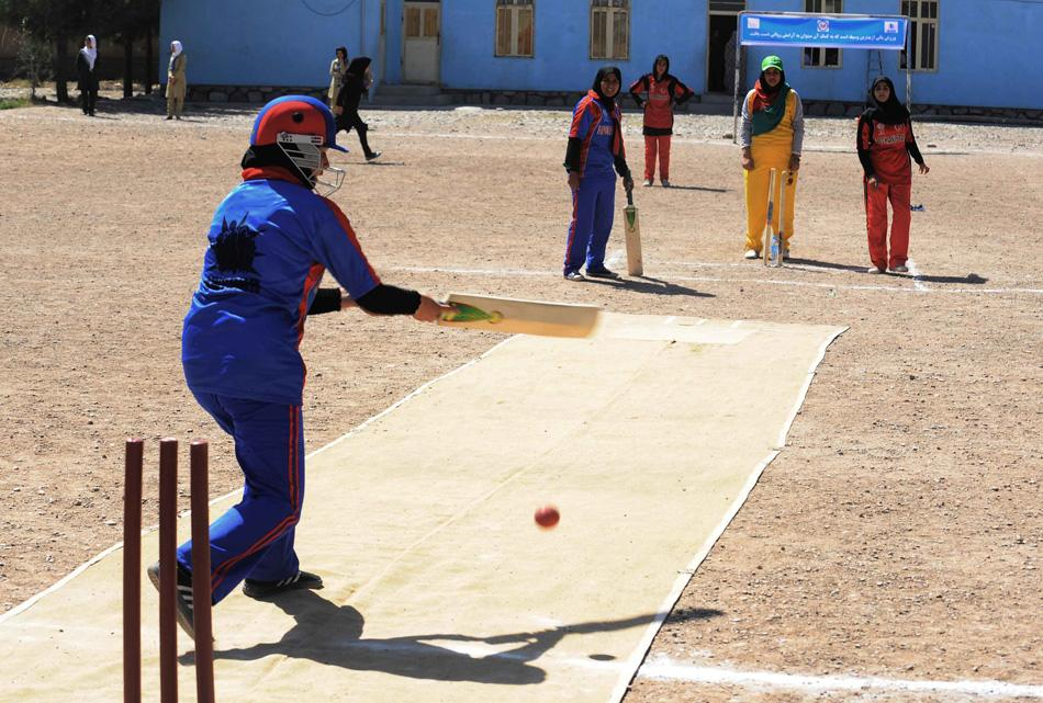 CRICKET-AFGHANISTAN-WOMEN