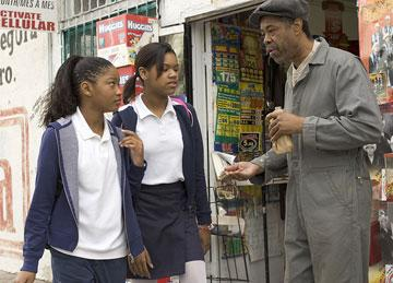 Keke Palmer and Erica Hubbard in Lionsgate Films' Akeelah and the Bee