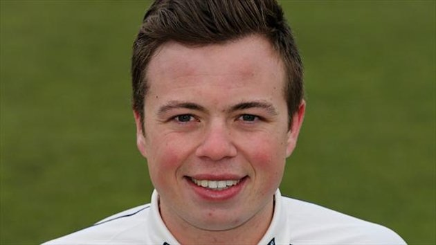 Scotland's Matt Machan came close to scoring a half-century against Namibia.
