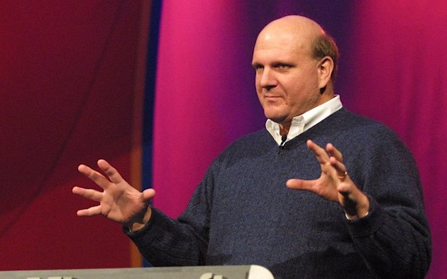 The Moment Steve Ballmer Broke Up with Microsoft