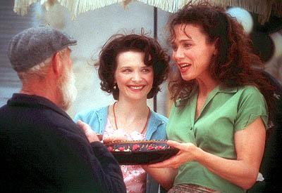 Juliette Binoche and Lena Olin in Miramax's Chocolat