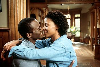 Taye Diggs and Sanaa Lathan in Universal's The Best Man