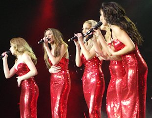 Girls Aloud Filming 'Ten' Reunion Tour For New Live DVD