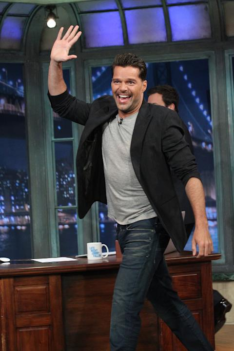 Ricky Martin, Late Night with Jimmy Fallon, NBC