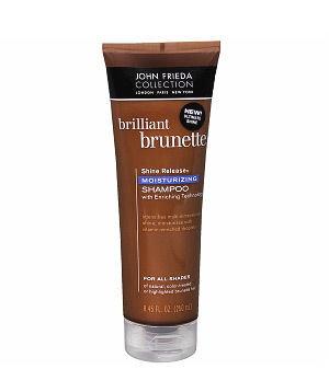 John Frieda Brilliant Brunette Shine Release Moisturizing Shampoo