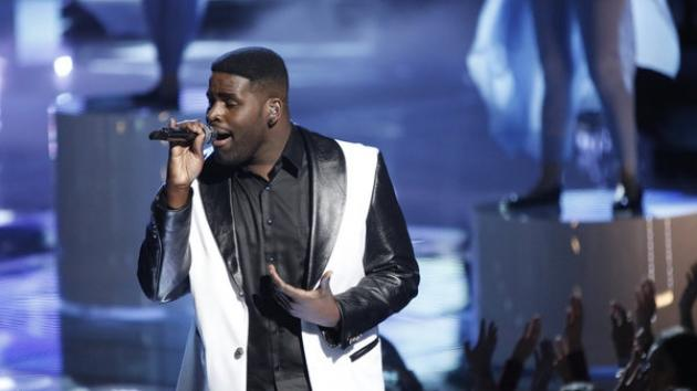 Trevin Hunte performs on 'The Voice' -- NBC