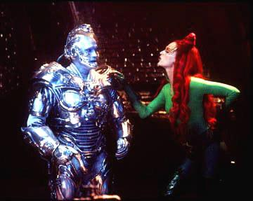 Arnold Schwartzenegger and Uma Thurman in Warner Brothers' Batman & Robin