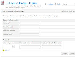 Increase Intranet ROI with Advanced E Forms image Form