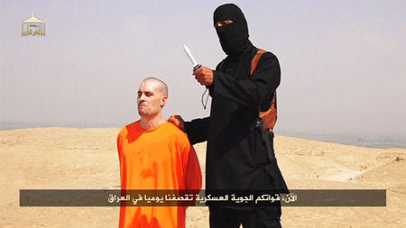 Islamic State video claims to show beheading of U.S. journalist