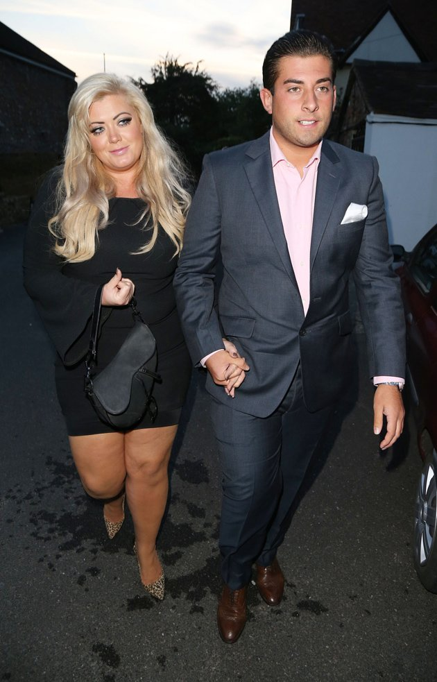 Gemma Collins and Arg