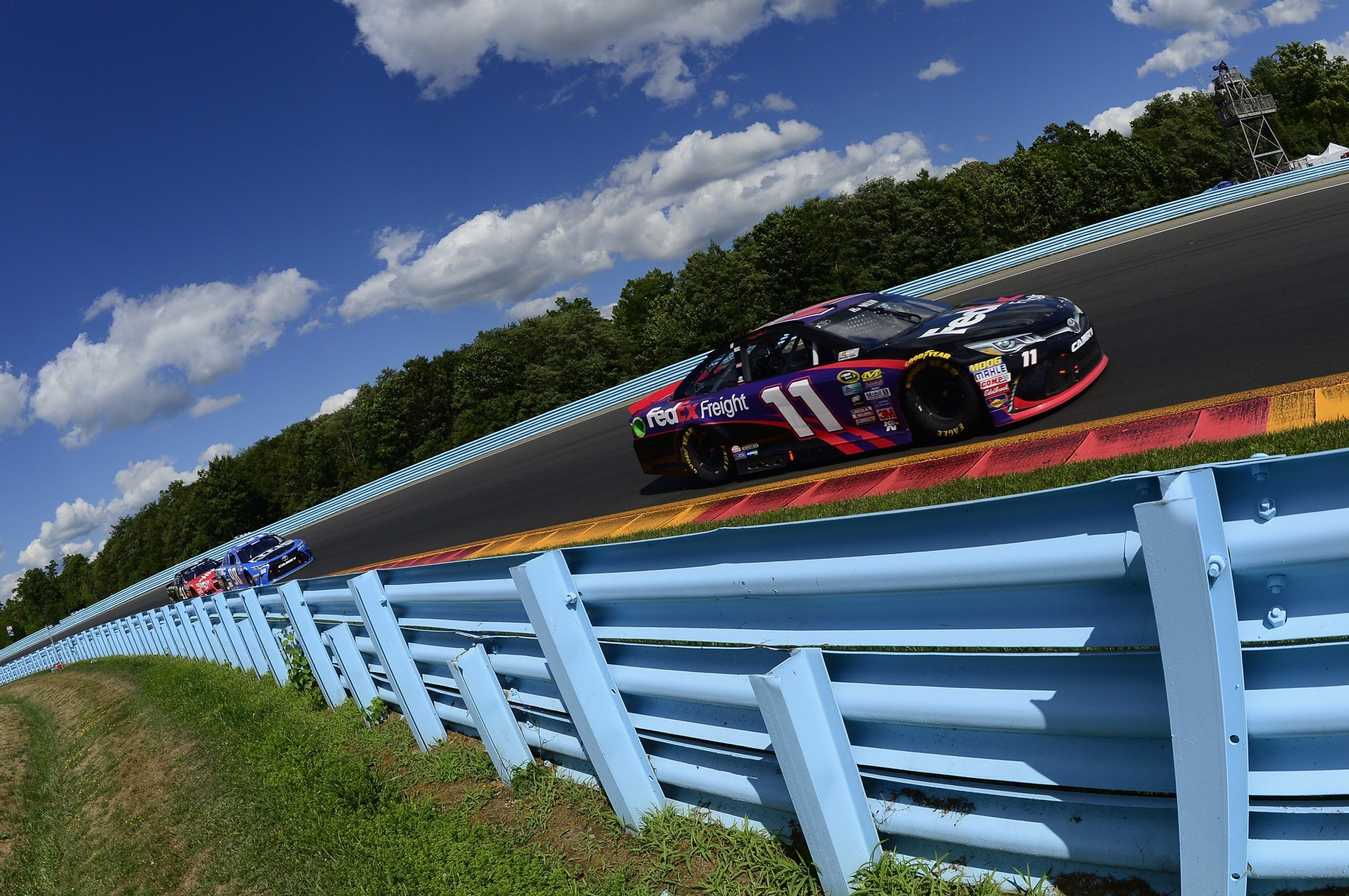 Denny Hamlin got his second win of the season on Sunday (Getty).