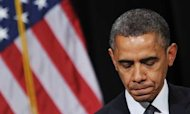 US Shooting: Obama Visits Newtown In Mourning