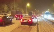 Weather: Snow Storm Brings M6 To Standstill