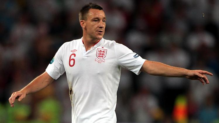 John Terry was capped 78 times by England