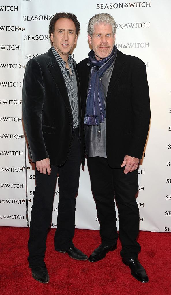 Season of the witch NY Premiere 2010 Nicolas Cage