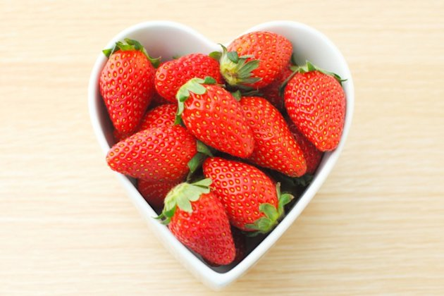 Eating heart-shaped foods will keep your ticker in good shape
