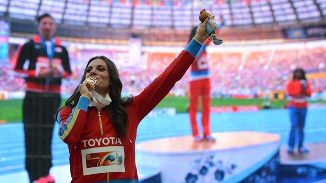 World Championships - 'Isinbayeva anti-gay? No, just lining up a political career'