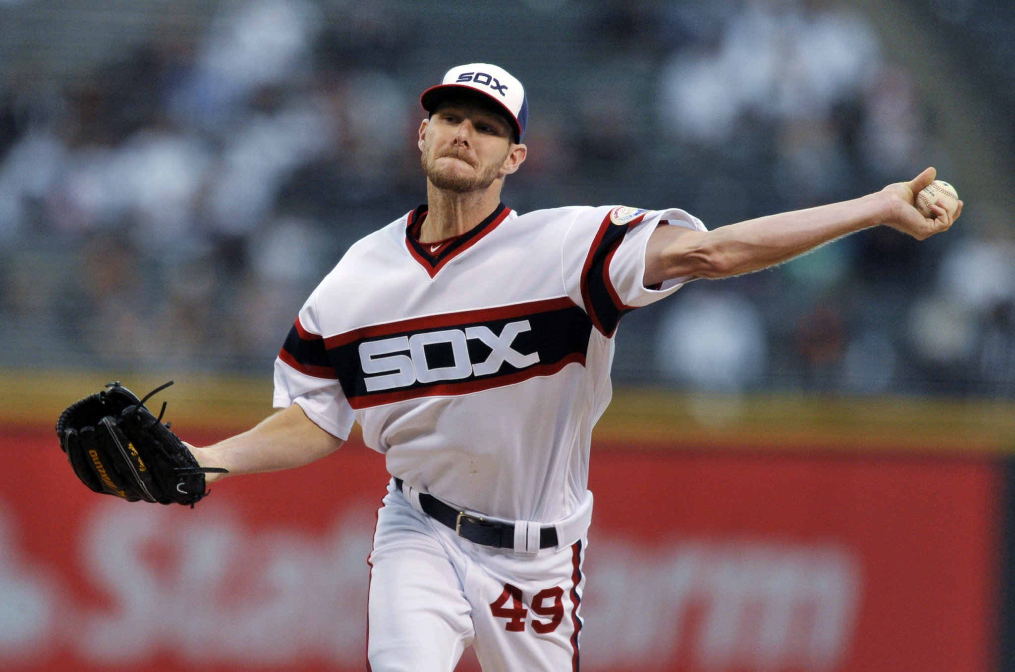 Get ready for lots of Chris Sale trade rumors this offseason. (AP)