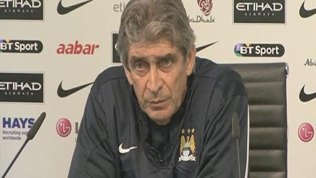 Pellegrini on Man City's Champions League confusion