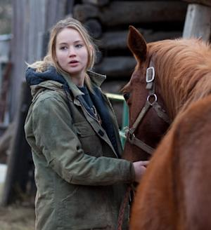 "In this film publicity image released by Lionsgate, Jennifer Lawrence is shown in a scene from ""Winter's Bone.""  (AP Photo/Lionsgate)"