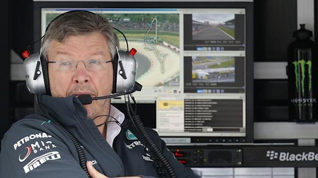 Ross Brawn has announced his retirement from Formula 1 (Reuters)