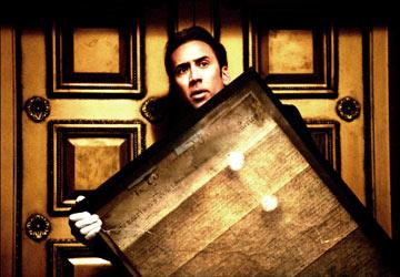Nicolas Cage in Walt Disney Pictures' National Treasure