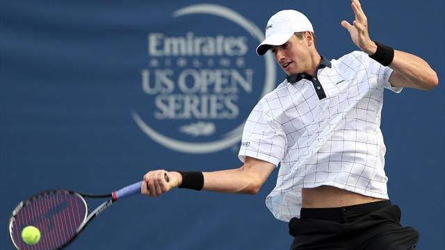 Isner books date with Tsonga in Winston-Salem