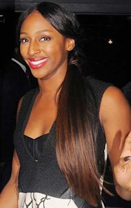 Alexandra Burke Works This Season's Show Pony