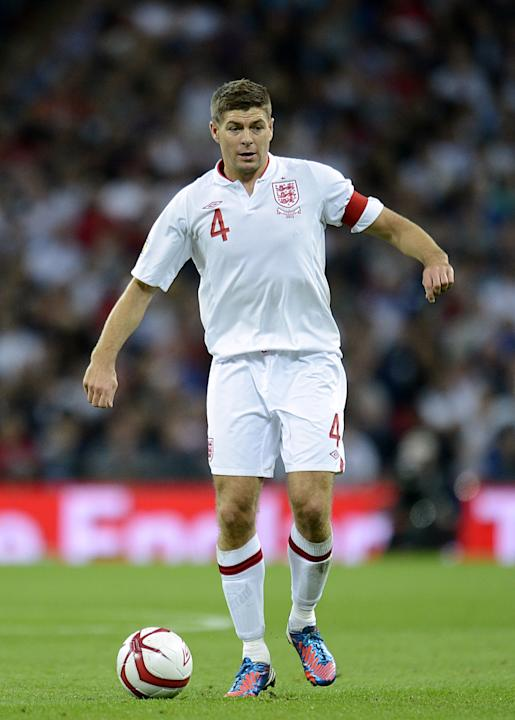 Steven Gerrard has been passed fit to win his 100th cap against Sweden