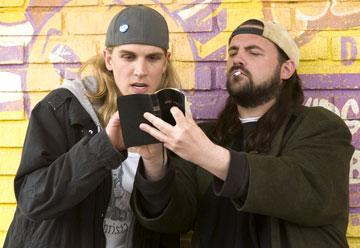 Jason Mewes and Kevin Smith in The Weinstein Company's Clerks II