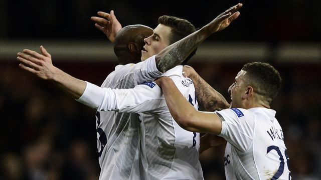 Europa League - Bale brilliance gives Spurs advantage