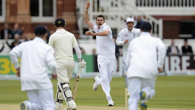 Cricket - Anderson landmark masks poor day for England at Lord's