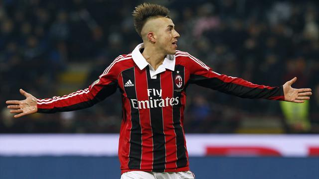 Serie A - El Shaarawy out for 10 weeks