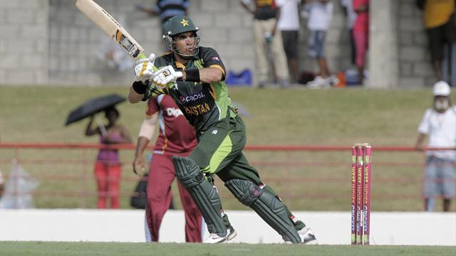 Cricket - Pakistan clinch series in West Indies with one ball to spare